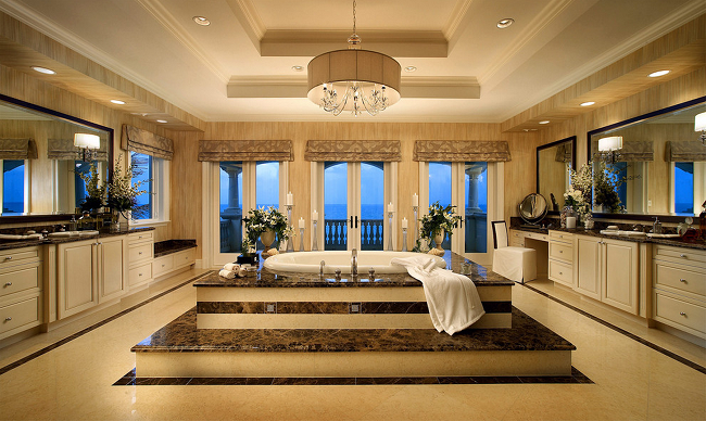 Ultra-modern-Mediterranean-themed-bathroom