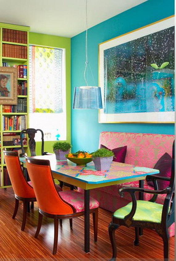 awesome-dining-room-furniture-design-ideas-with-contemporary-wall-picture