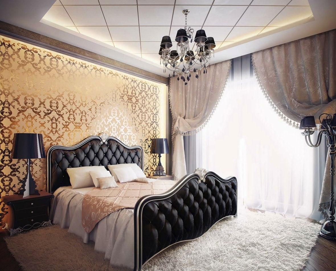 bedrooms-luxurious-classic-bedroom-design