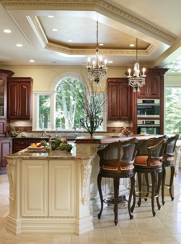 30 amazing crystal chandeliers ideas for your home for Houzz small kitchens