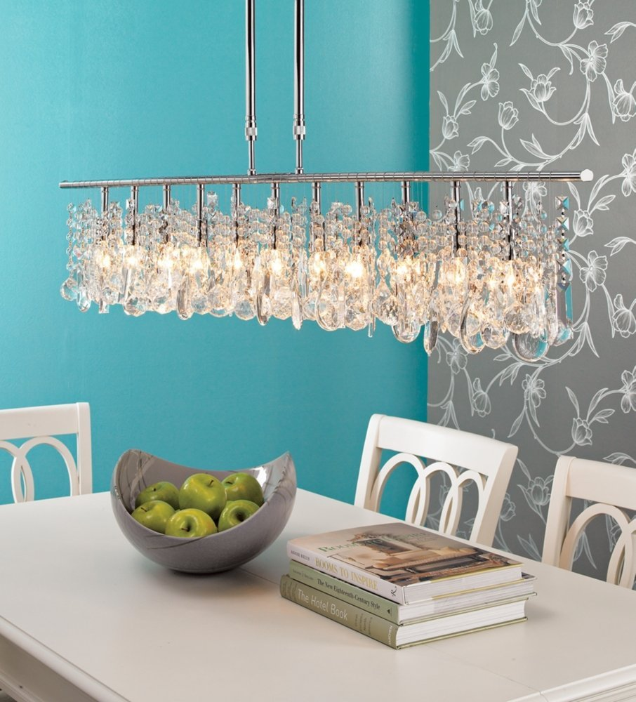 30 amazing crystal chandeliers ideas for your home - Crystal chandelier for dining room ...