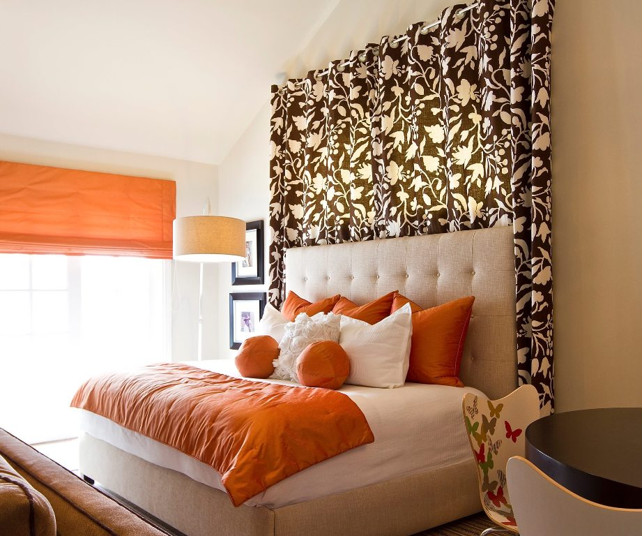 curtain-ideas-for-large-windows-decorated-by-tufted-headboard