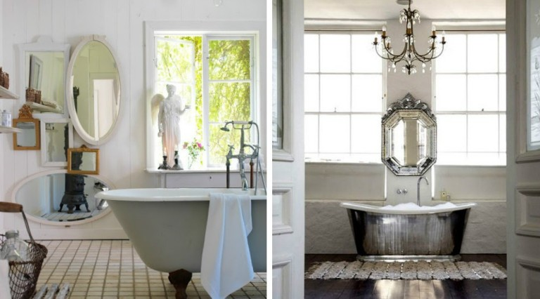 25 Stunning Shabby Chic Bathroom Design Inspiration