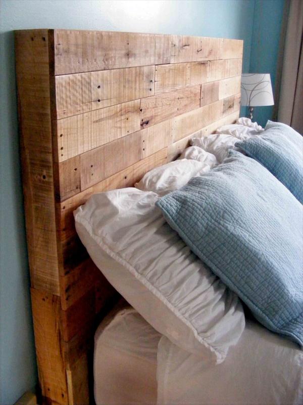 25 Stunning Wood Pallets Headboard To Feel Wow