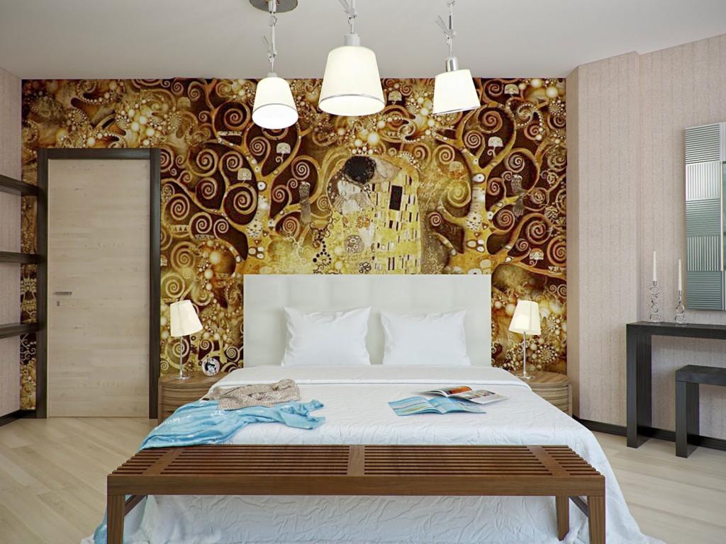interior-artistic-gold-brown-wallpaper