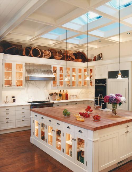 kitchen-island-lighting-ideas-with-skylight