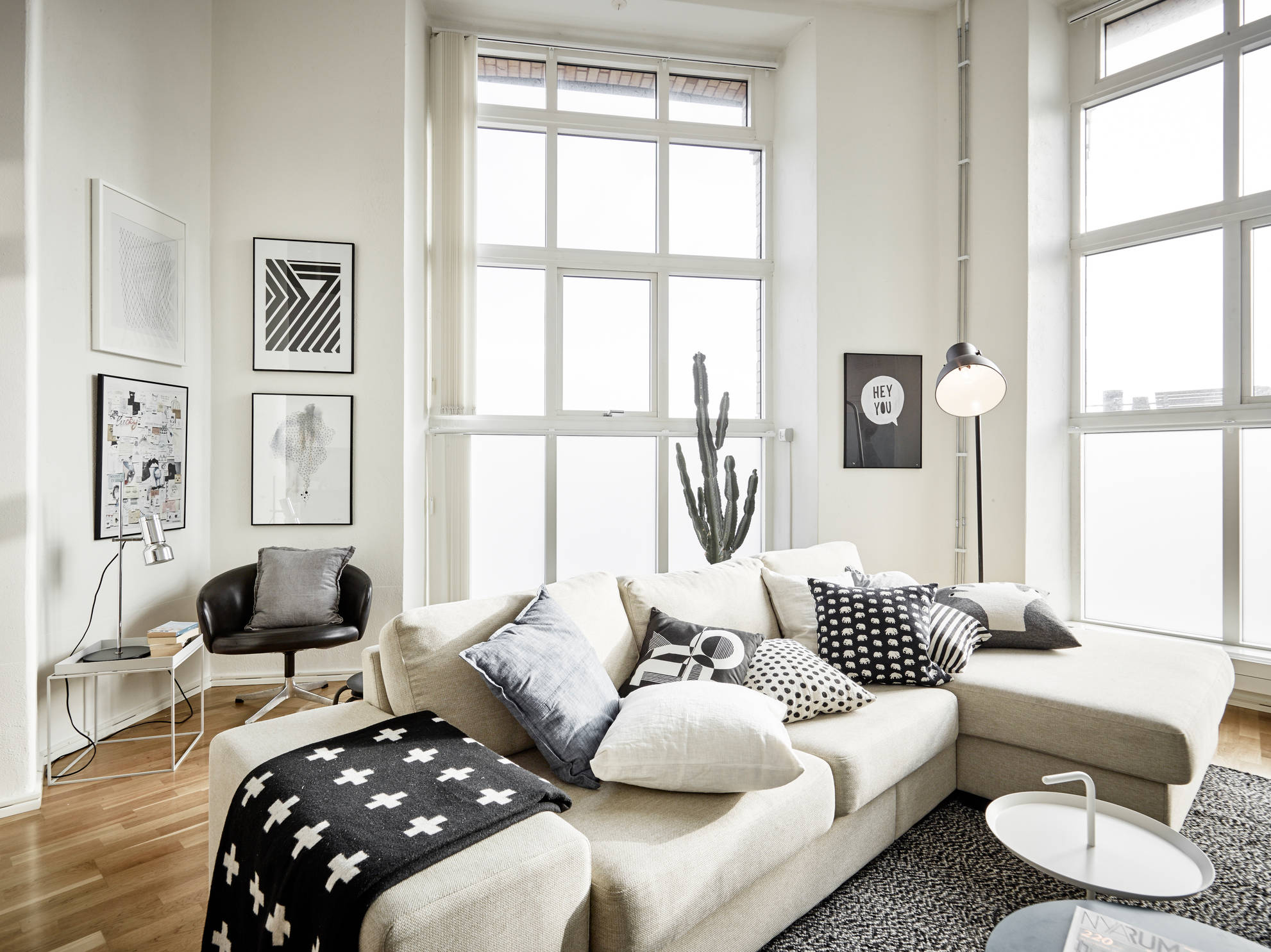25 Attractive Modern Apartment Interior With Scandinavian