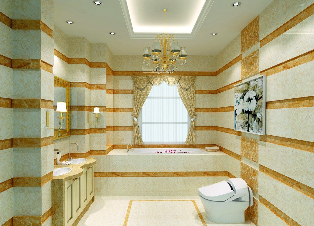 25 luxurious bathroom design ideas to copy right now for Bathroom ceiling ideas