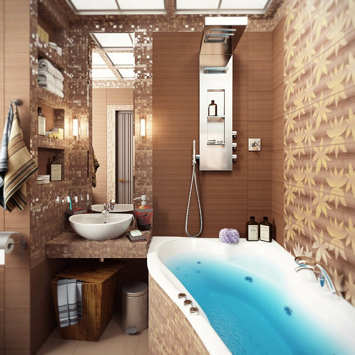 luxury-bathroom-design-with-brown-color