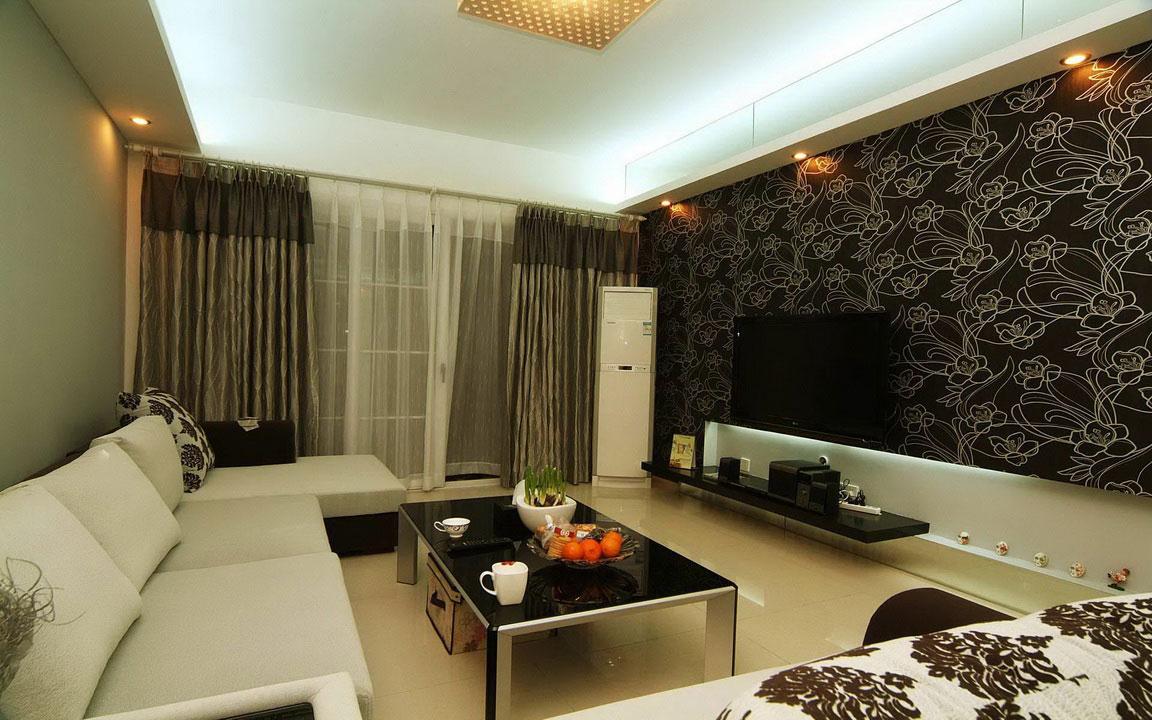 modern-classic-combination-interior-living room