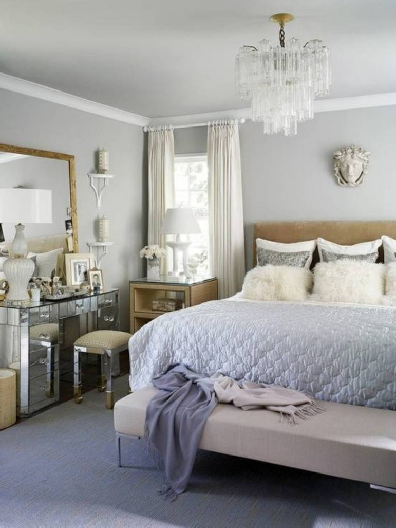 25 sophisticated paint colors ideas for bed room for Bedroom and bathroom