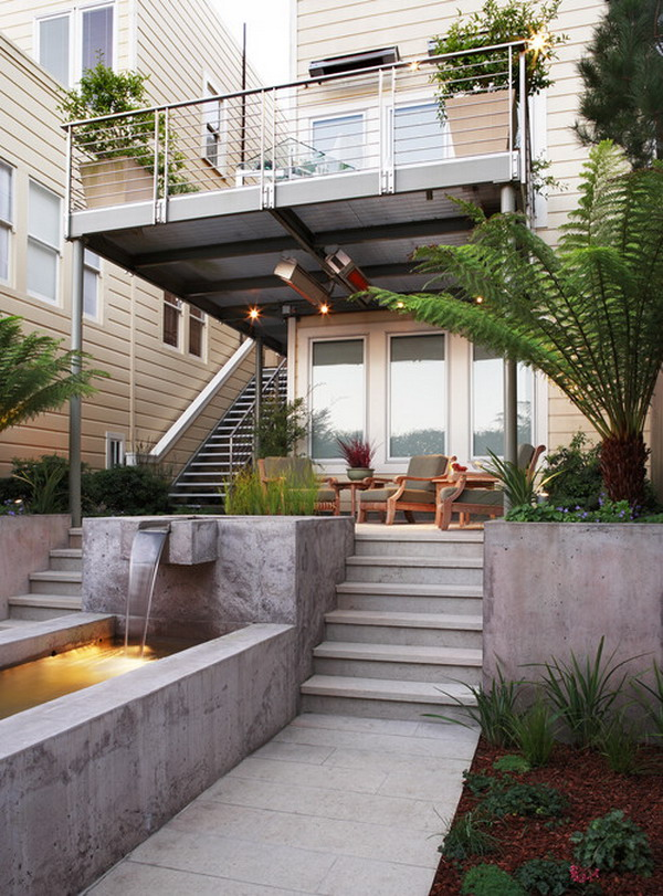 Cantilever Balcony Design Plans: 25 Amazing Modern Patio Design Ideas