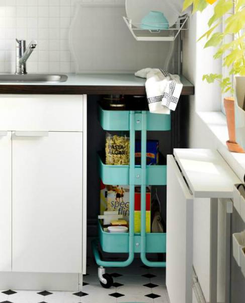 Tiny Kitchen Storage Ideas: 31 Amazing Storage Ideas For Small Kitchens