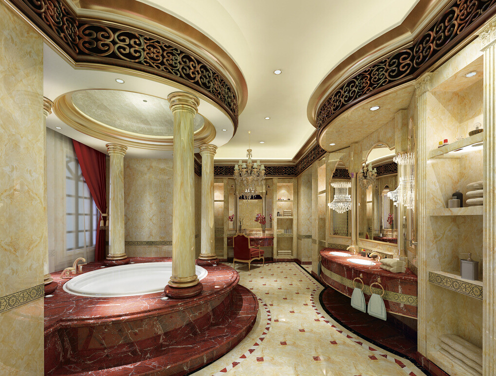 Top 21 ultra luxury bathroom inspiration for Beautiful houses interior bathrooms