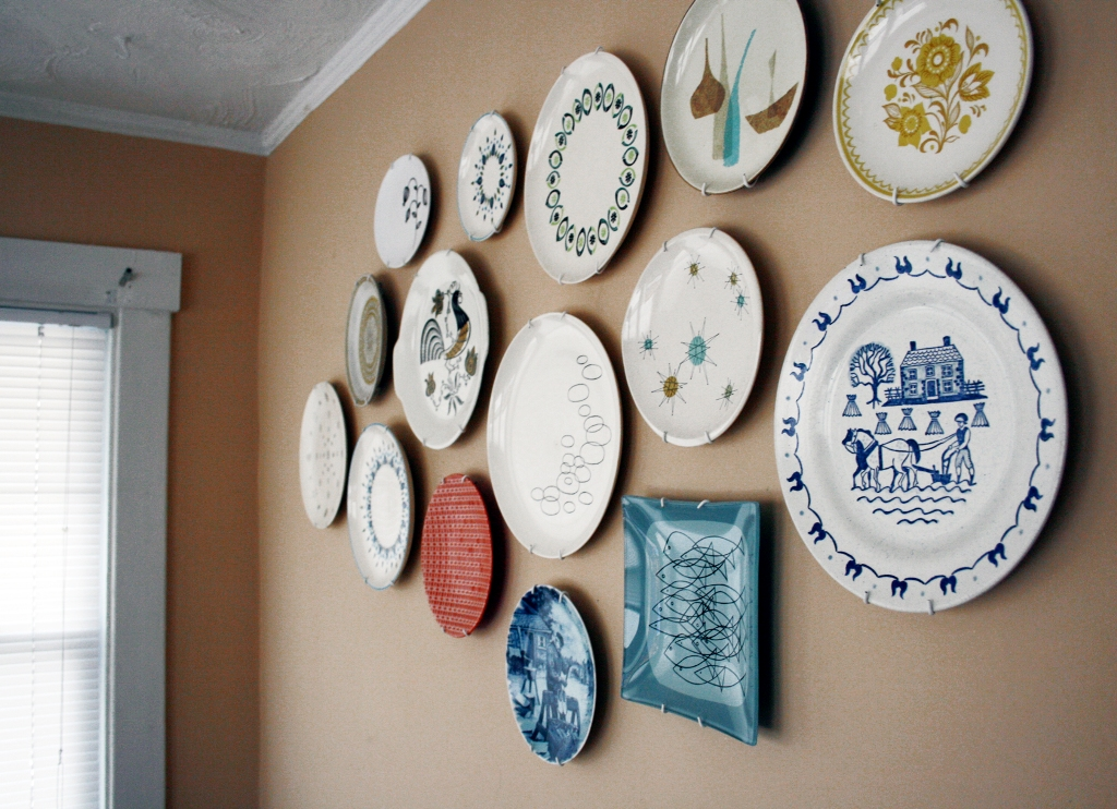 Wall Plates Home Decor : Beautiful wall decor ideas using decorative plates
