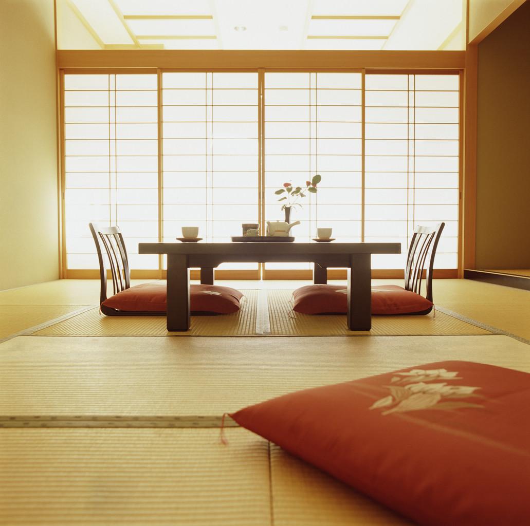 Asian Style Modern Living Room