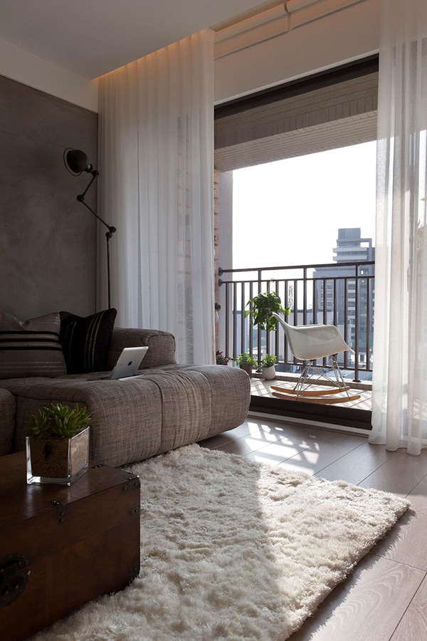27 gorgeous modern living room designs for your inspiration for Balcony living room design