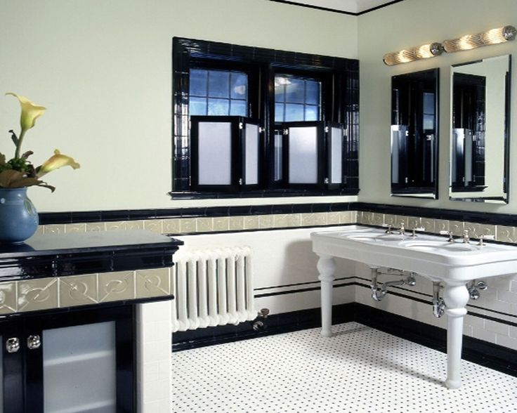 20 stunning art deco style bathroom design ideas for Small art deco bathroom ideas