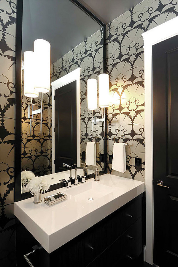 Bold Art Deco Bathroom