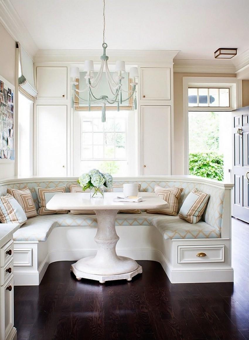 Chic Luxury Breakfast Nook Ideas