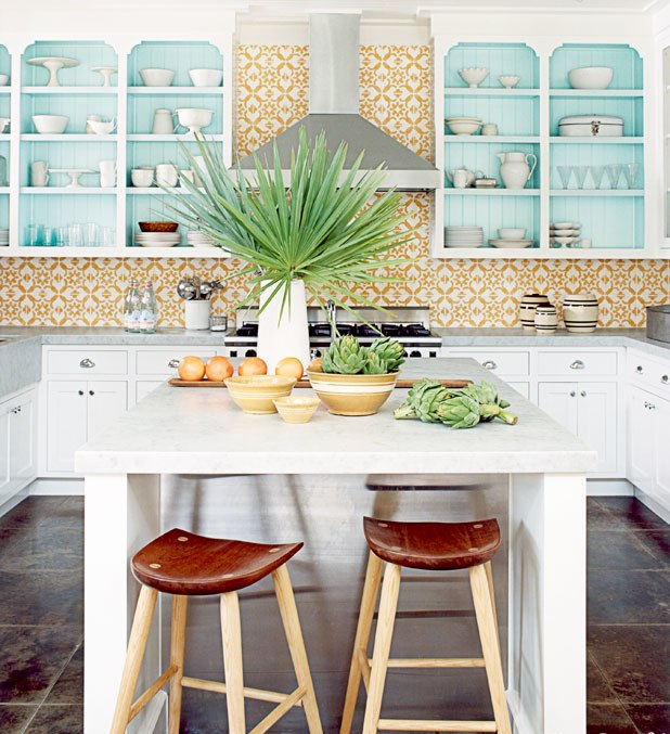 20 Modern Kitchens Decorated In Yellow And Green Colors: 20 Tropical Kitchen Design Ideas With Exotic Allure
