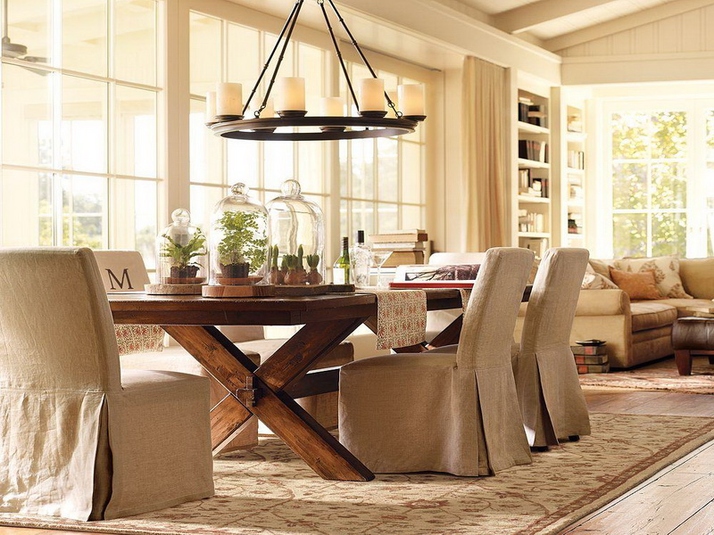 20 awesome dining room design ideas for your inspiration for Beautiful wood dining room tables