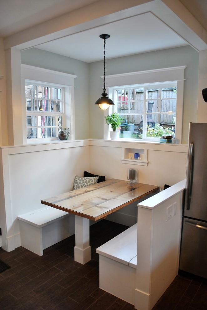 Contemporary Kitchen Nook Design