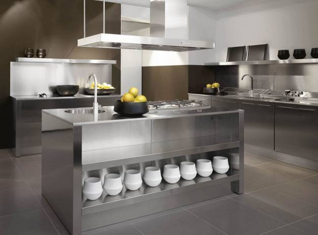 kitchen designs stainless steel 25 fresh stainless steel ideas for your kitchen 348