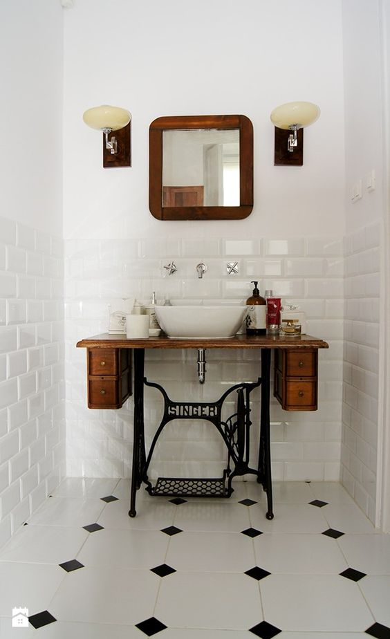 DIY Art Deco Bathroom