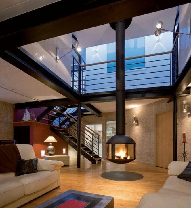 Elegant Fireplace for Contemporary Living Room