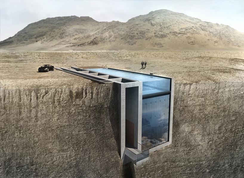 Epic Cliff House 'Casa Brutale