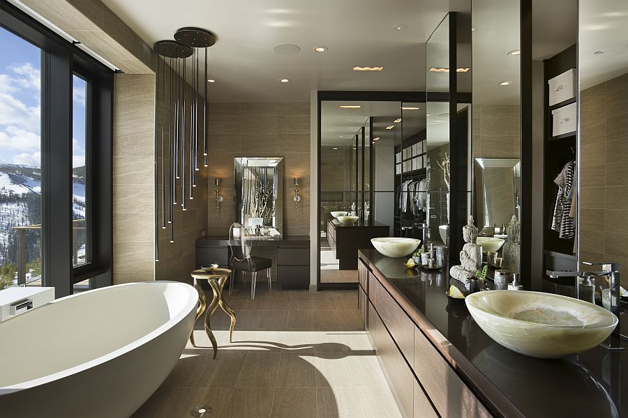 High End Luxurious Modern Master Bathrooms