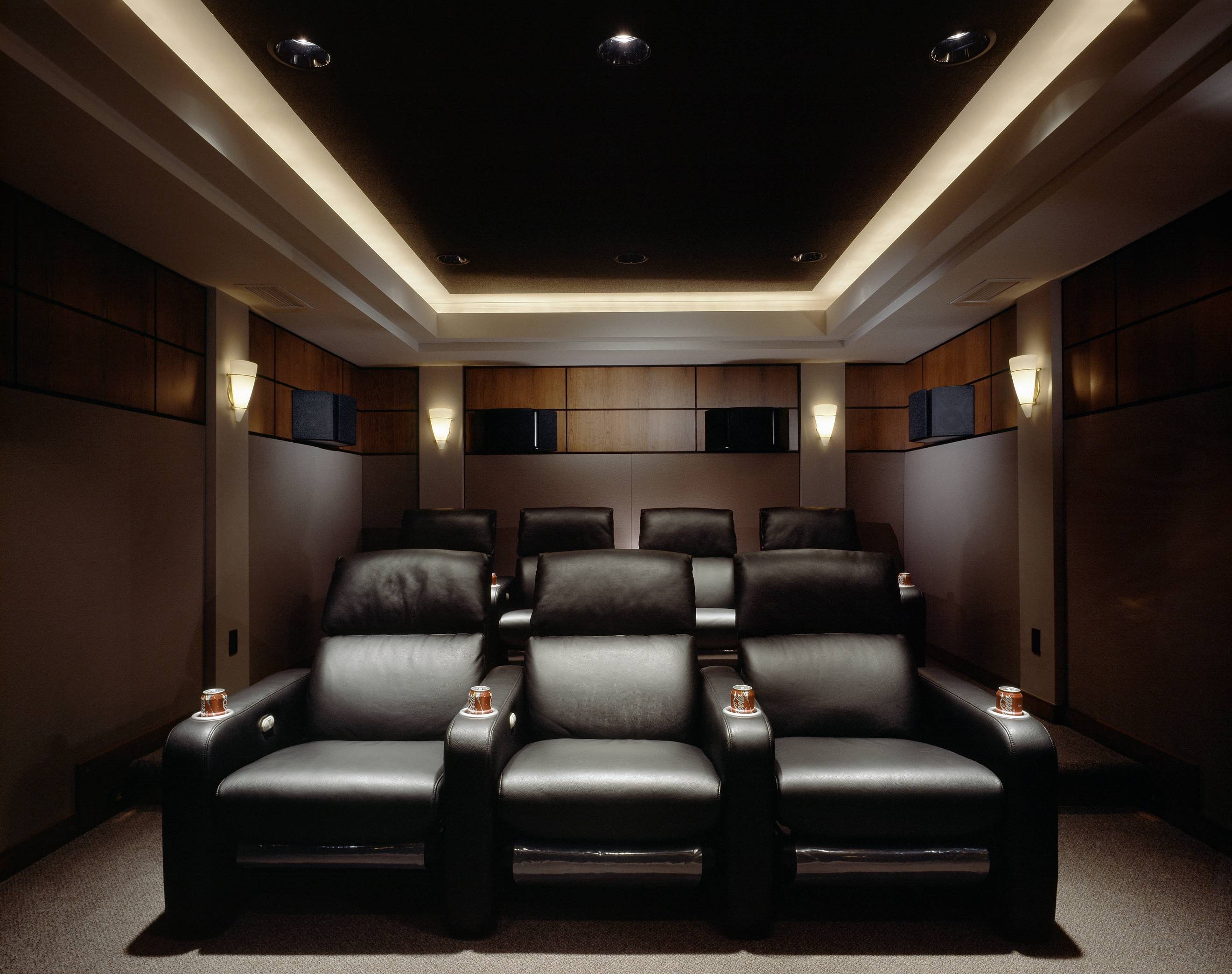 25 inspirational modern home movie theater design ideas Home theater architecture