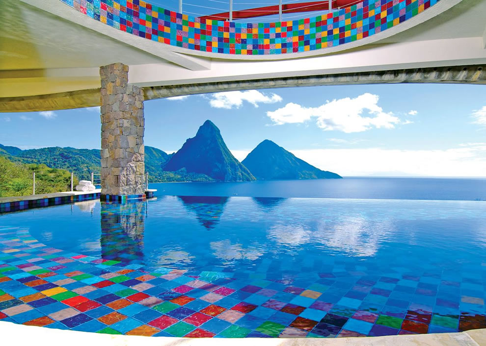 Infinity Suites, Anse Chastenet Resort at St. Lucia