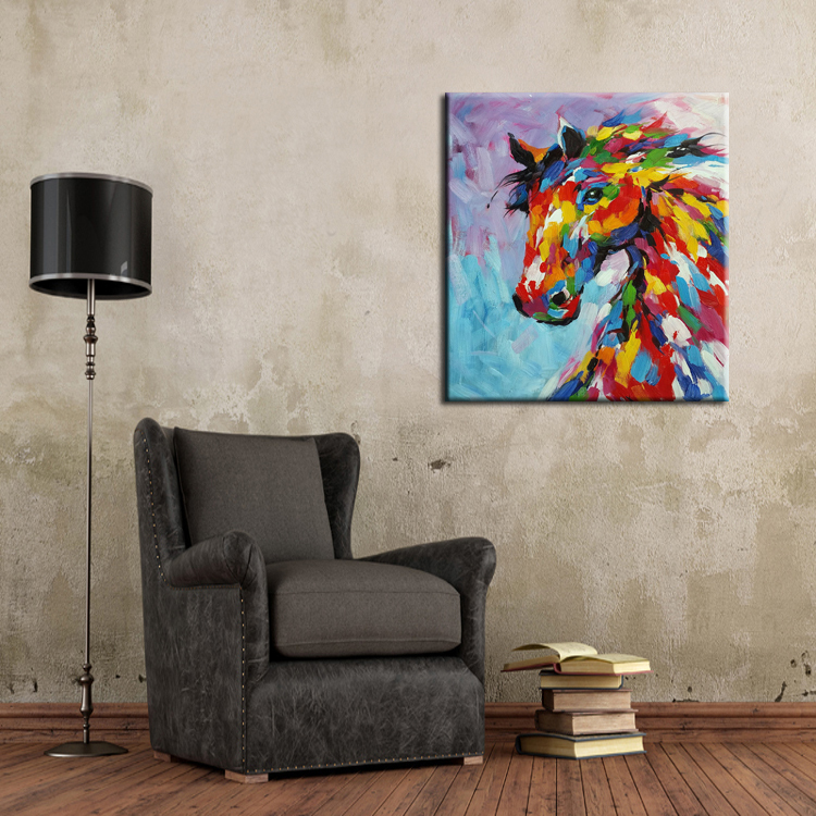 25 creative canvas wall art ideas for living room for Wall art paintings for living room