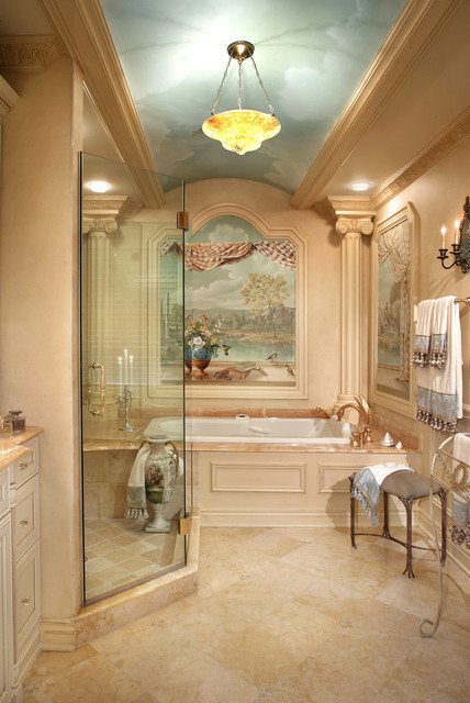 Luxury Master Bathroom Remodel mediterranean-bathroom