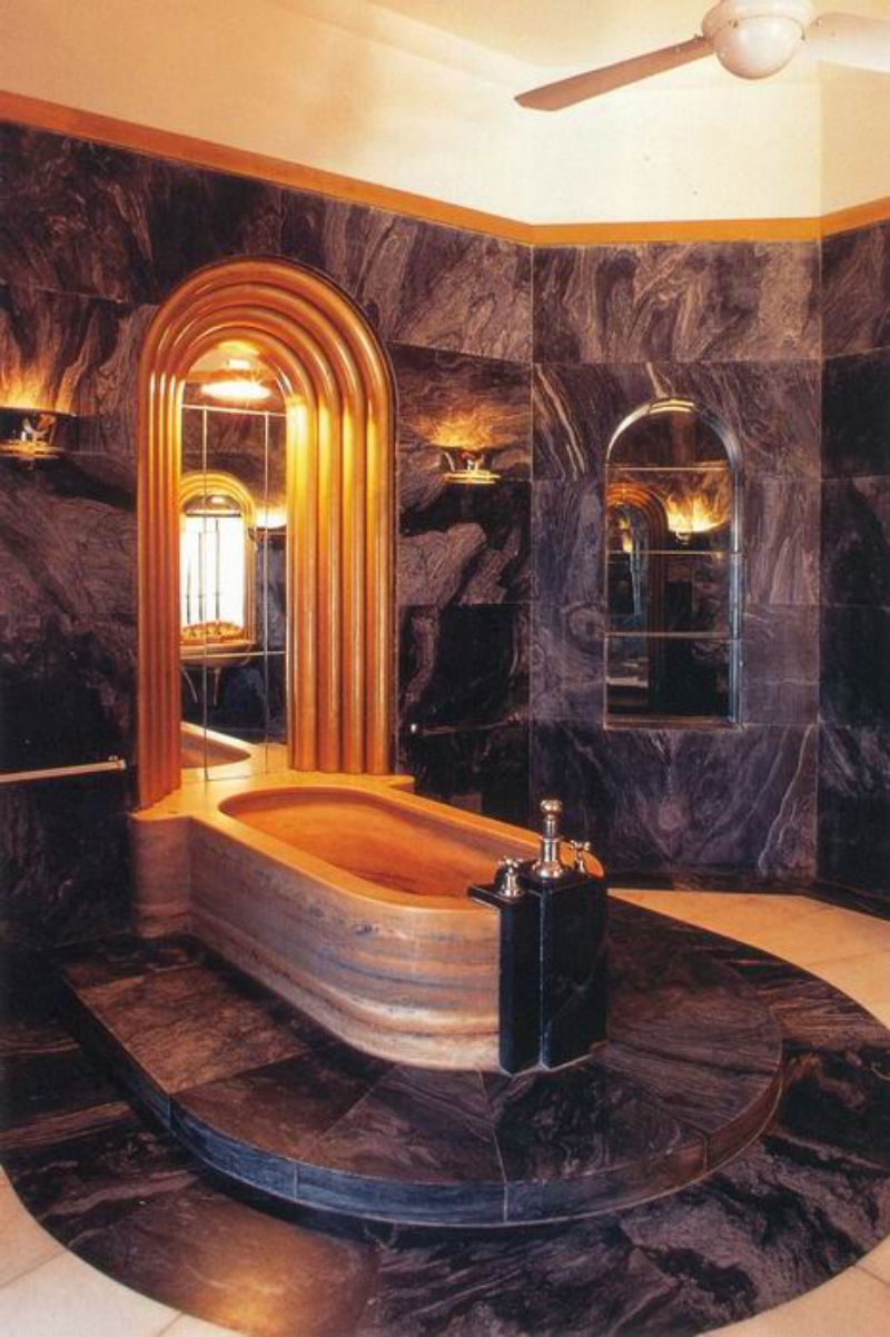 20 stunning art deco style bathroom design ideas - Luxury bathroom designs with stunning interior ...