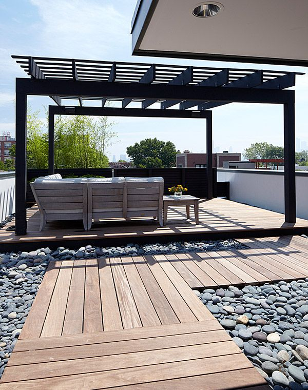 25 beautiful rooftop garden designs to get inspired Home plans with rooftop deck
