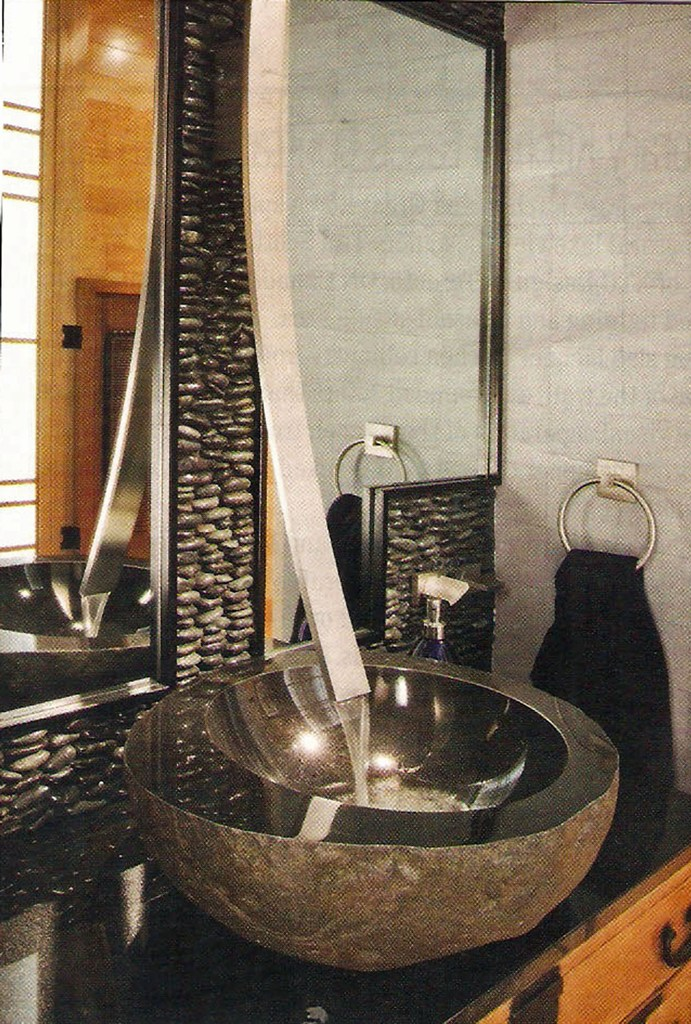 35 unique bathroom sink designs for your beautiful bathroom for Bathroom sink designs