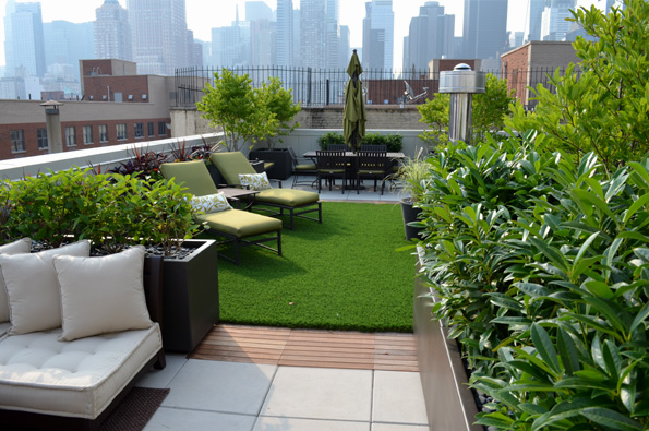 Roof Top Garden Makeover Ideas