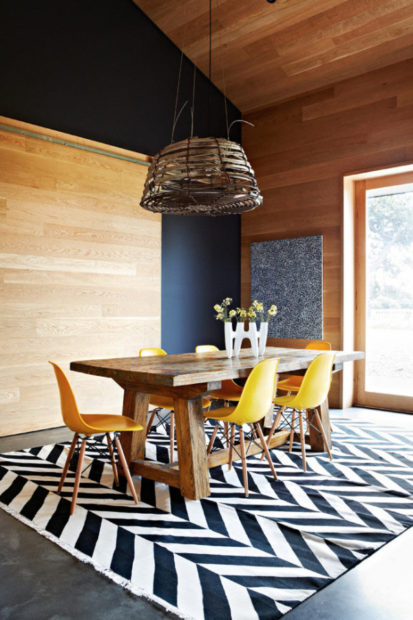 20 awesome dining room design ideas for your inspiration for Sillas comedor amarillas