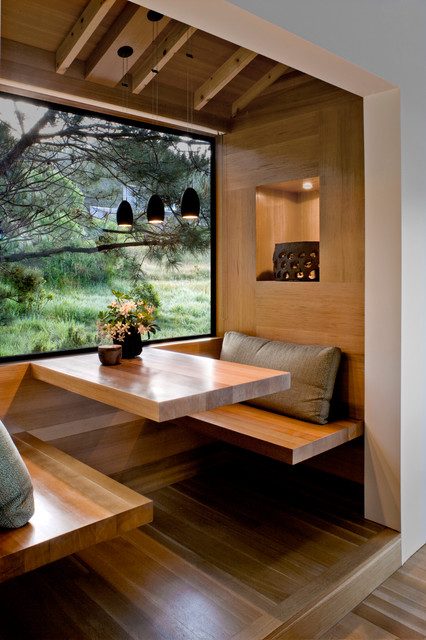 Rustic kitchen Nook Design for Small Apartments