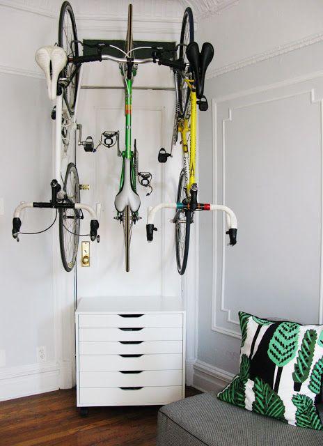 Three bikes at home