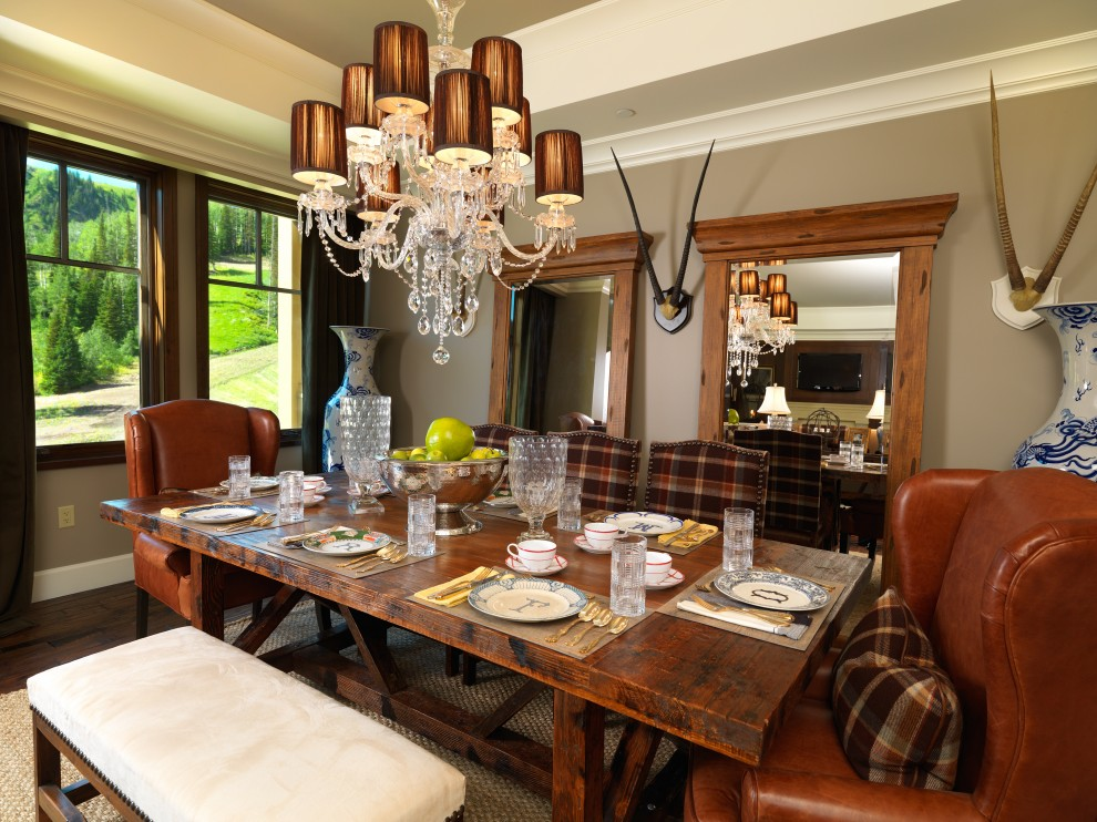 20 awesome dining room design ideas for your inspiration for Traditional dining room design