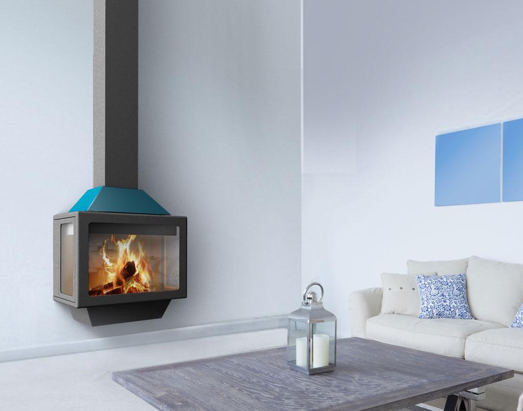Unique TraforArt Fireplace