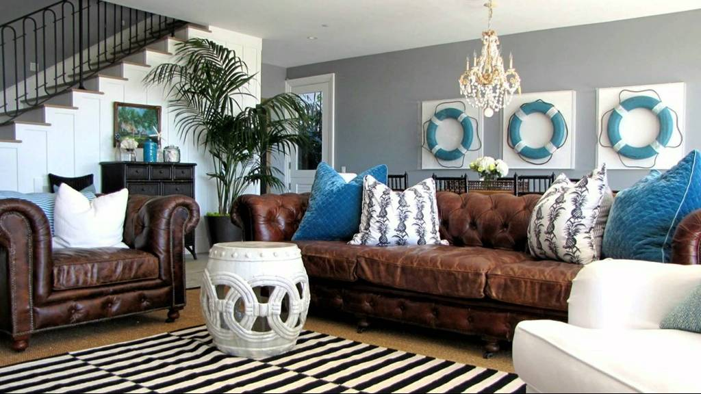 beach Inspired Living room