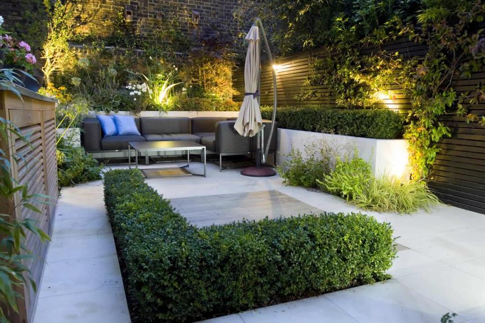 25 peaceful small garden landscape design ideas for Small outdoor decorating ideas