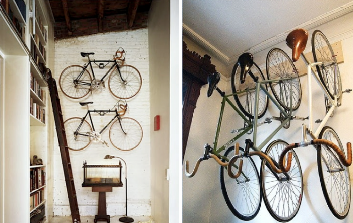 21 creative indoor bike storage ideas for space saving indoor bike storage ideas