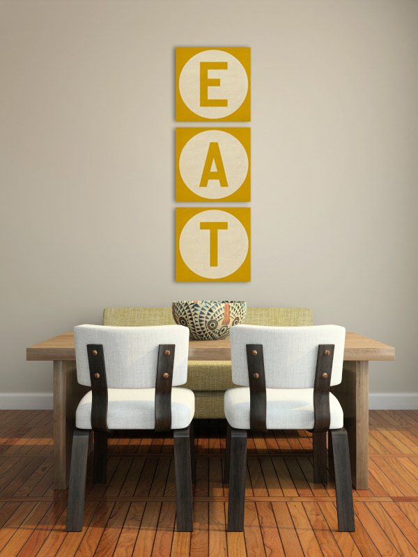 dining room canvas art