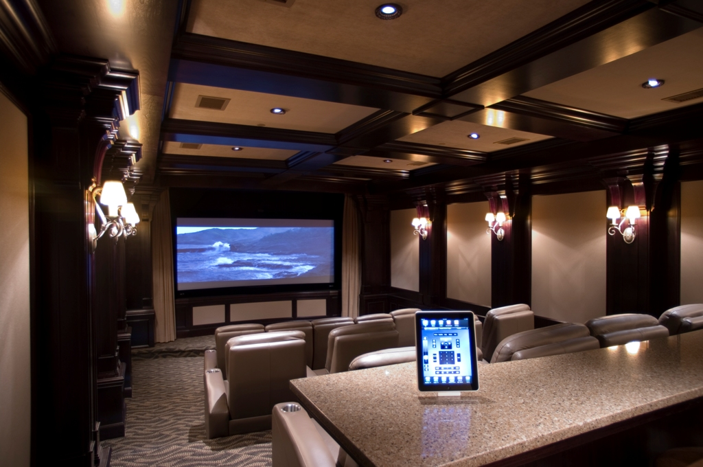 Fantastic Modern Home Theater Design